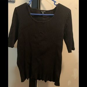 George tee color black size XL/16-18